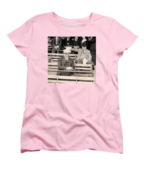 Babe Ruth In The Stands At Griffith Stadium 1922 Women's T-Shirt (Standard Cut) by Mountain Dreams