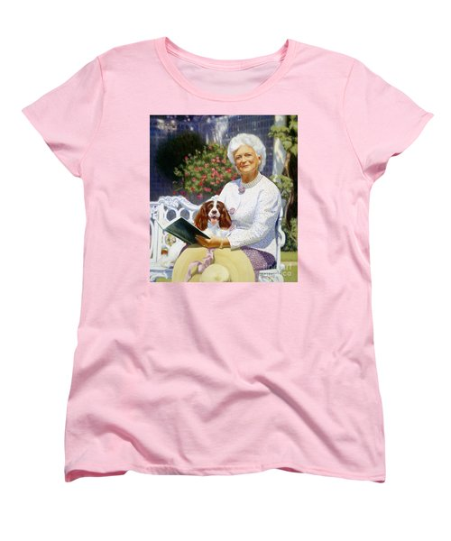 Companions In The Garden Women's T-Shirt (Standard Cut) by Candace Lovely