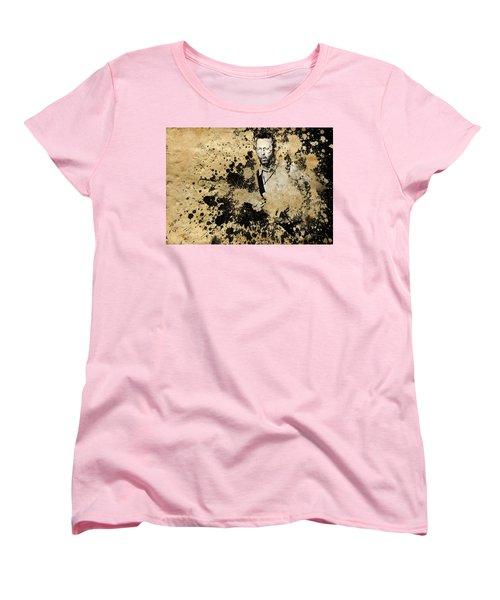 Eric Clapton 3 Women's T-Shirt (Standard Cut) by Bekim Art