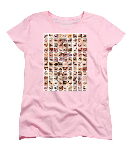 Eyes Of Hollywood - Old Era Women's T-Shirt (Standard Cut) by Taylan Apukovska