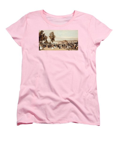 Hyde Park, Towards The Grosvenor Gate Women's T-Shirt (Standard Cut) by Thomas Shotter Boys