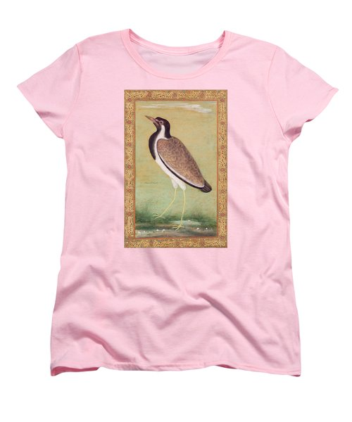 Indian Lapwing Women's T-Shirt (Standard Cut) by Mansur