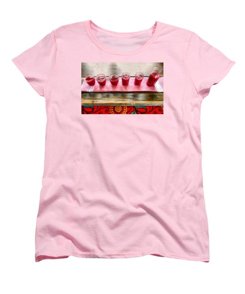 Putting Up Preserves Women's T-Shirt (Standard Cut) by Michelle Calkins