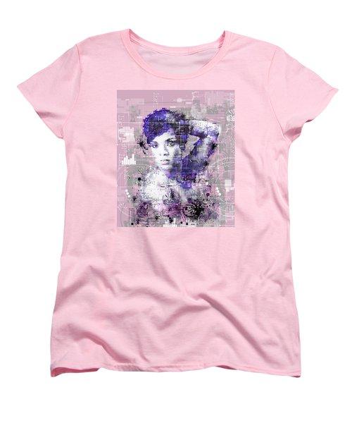 Rihanna 3 Women's T-Shirt (Standard Cut) by Bekim Art