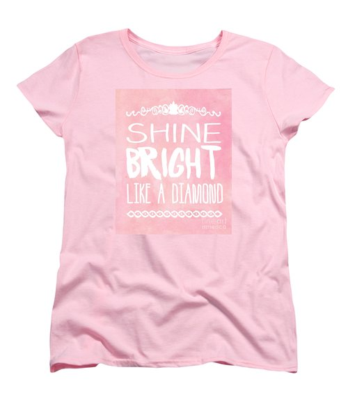 Shine Bright Women's T-Shirt (Standard Cut) by Pati Photography