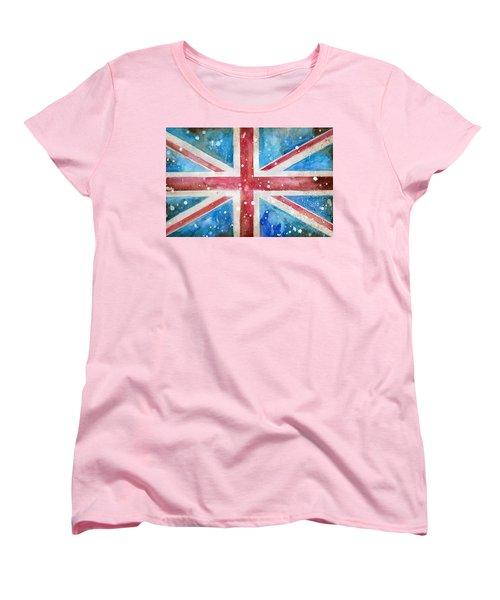Union Jack Women's T-Shirt (Standard Cut) by Sean Parnell