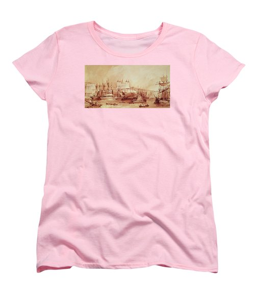 View Of The Tower Of London Women's T-Shirt (Standard Cut) by William Parrott