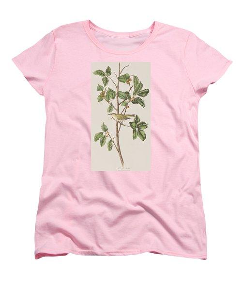 Tennessee Warbler Women's T-Shirt (Standard Cut) by John James Audubon