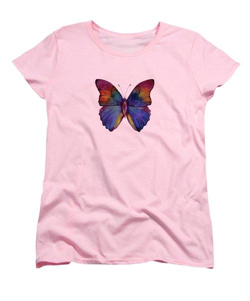 13 Narcissus Butterfly Women's T-Shirt (Standard Cut) by Amy Kirkpatrick