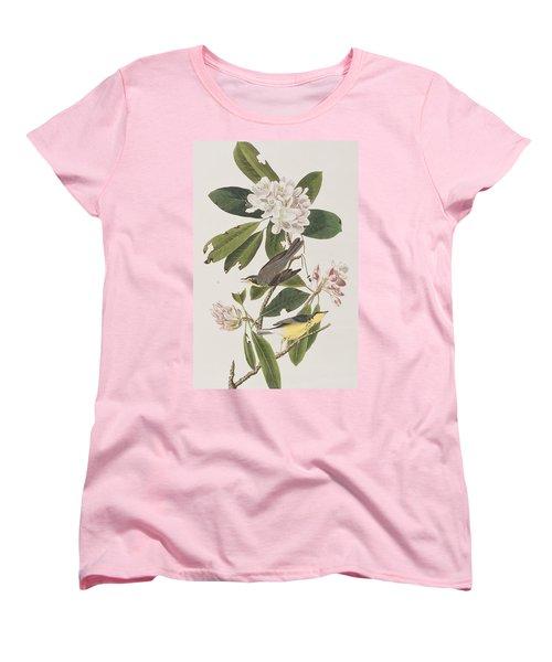 Canada Warbler Women's T-Shirt (Standard Cut) by John James Audubon