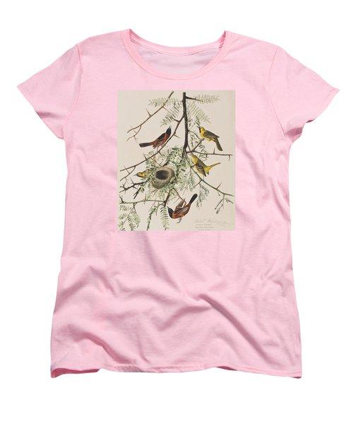 Orchard Oriole Women's T-Shirt (Standard Cut) by John James Audubon