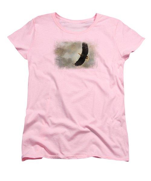 After The Intruder Women's T-Shirt (Standard Cut) by Jai Johnson