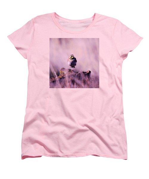 An Searching Gaze  Women's T-Shirt (Standard Cut) by Jeff Swan