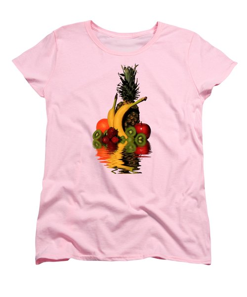 Fruity Reflections - Light Women's T-Shirt (Standard Cut) by Shane Bechler