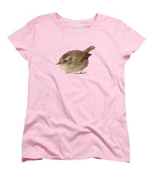 Wren Women's T-Shirt (Standard Cut) by Bamalam  Photography