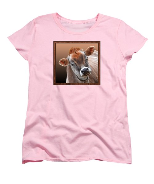 Hello Women's T-Shirt (Standard Cut) by Gill Billington