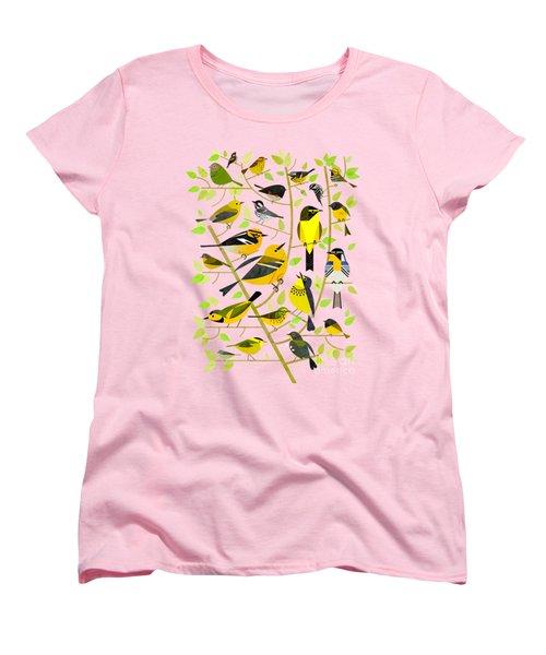 Warblers 1 Women's T-Shirt (Standard Cut) by Scott Partridge