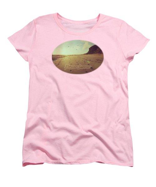 Forever Summer 9 Women's T-Shirt (Standard Cut) by Linda Lees