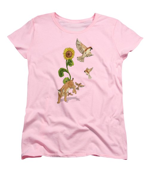 Bobcats And Beeswax Women's T-Shirt (Standard Cut) by Teighlor Chaney