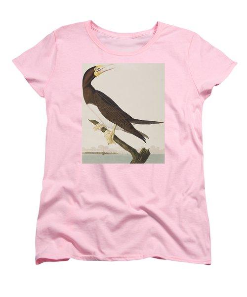 Booby Gannet   Women's T-Shirt (Standard Cut) by John James Audubon