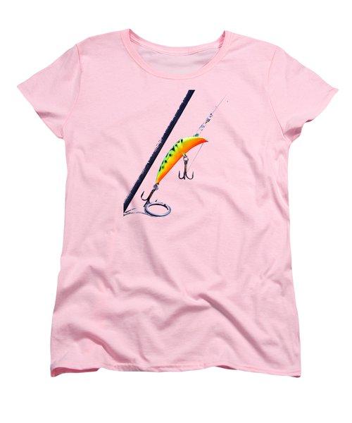 Canadian Wiggler Women's T-Shirt (Standard Cut) by Debbie Oppermann
