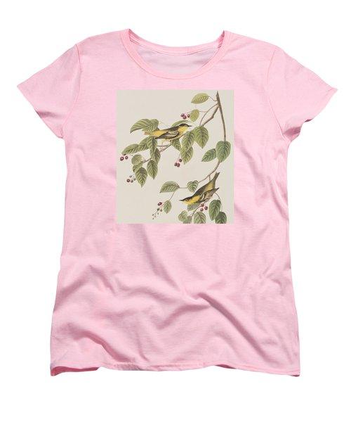 Carbonated Warbler Women's T-Shirt (Standard Cut) by John James Audubon
