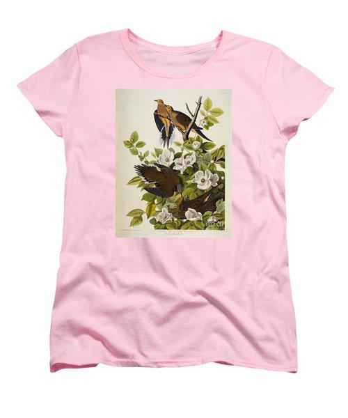 Carolina Turtledove Women's T-Shirt (Standard Cut) by John James Audubon
