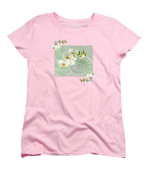 Cool Green Fusion Women's T-Shirt (Standard Cut) by Gill Billington
