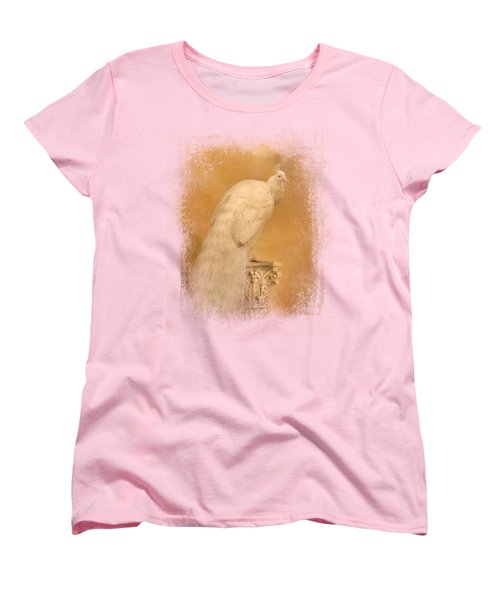 Elegance In Gold Women's T-Shirt (Standard Cut) by Jai Johnson