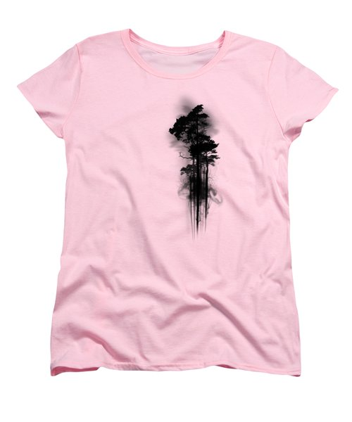 Enchanted Forest Women's T-Shirt (Standard Cut) by Nicklas Gustafsson