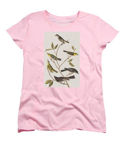 Fly Catchers Women's T-Shirt (Standard Cut) by John James Audubon