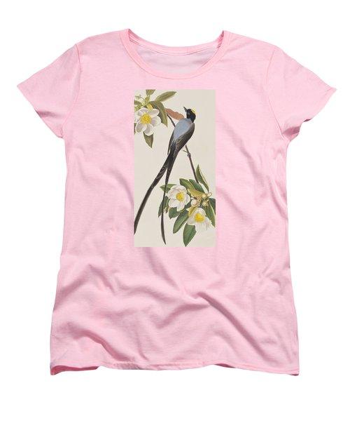 Fork-tailed Flycatcher  Women's T-Shirt (Standard Cut) by John James Audubon