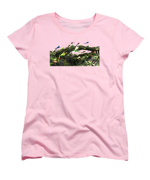 Frog Glen Women's T-Shirt (Standard Cut) by Methune Hively