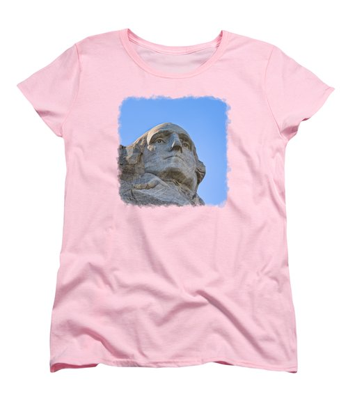George Washington 3 Women's T-Shirt (Standard Cut) by John M Bailey