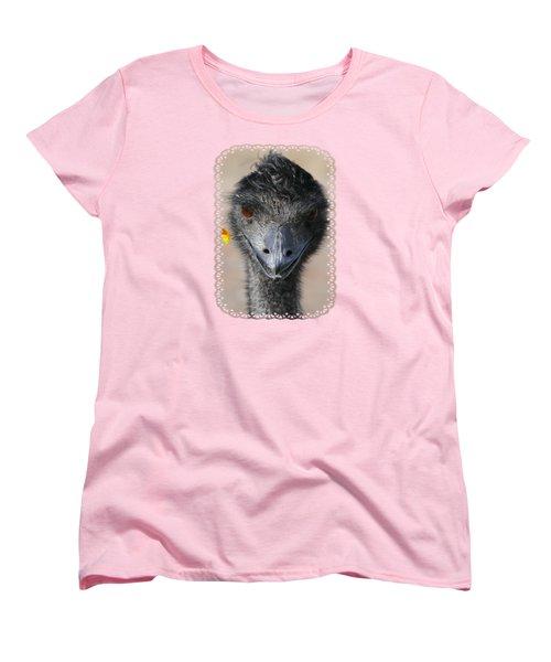 Happy Emu Women's T-Shirt (Standard Cut) by Ivana Westin