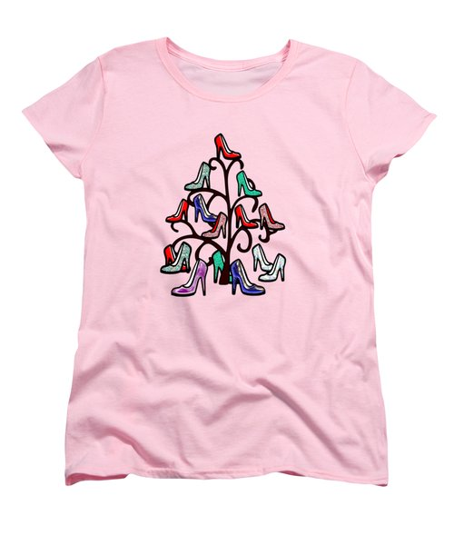 High Heels Tree Women's T-Shirt (Standard Cut) by Anastasiya Malakhova