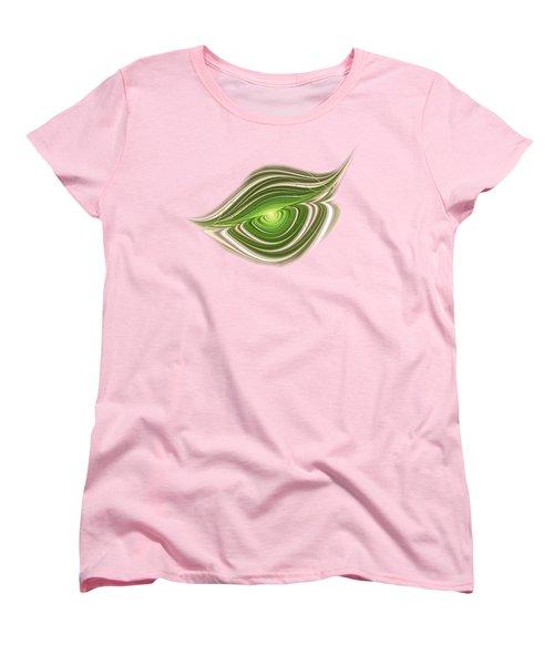 Hypnotic Eye Women's T-Shirt (Standard Cut) by Anastasiya Malakhova