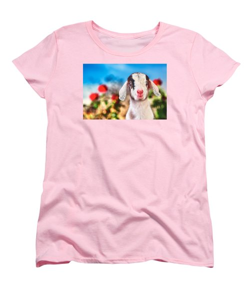 I'm In The Rose Garden Women's T-Shirt (Standard Cut) by TC Morgan