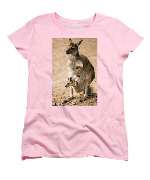 In  Mother's Care Women's T-Shirt (Standard Cut) by Mike  Dawson