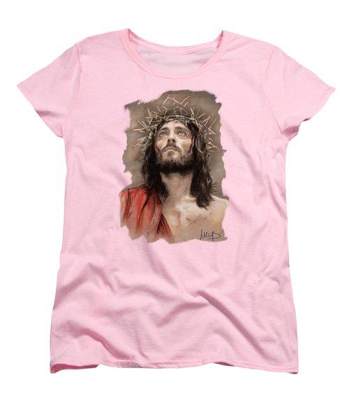 Jesus  Women's T-Shirt (Standard Cut) by Melanie D