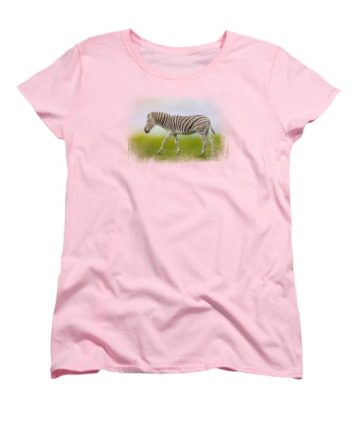 Journey Of The Zebra Women's T-Shirt (Standard Cut) by Jai Johnson