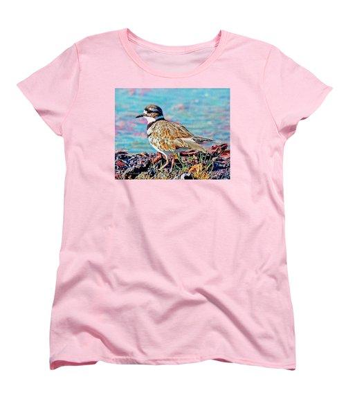 Killdeer  Women's T-Shirt (Standard Cut) by Ken Everett