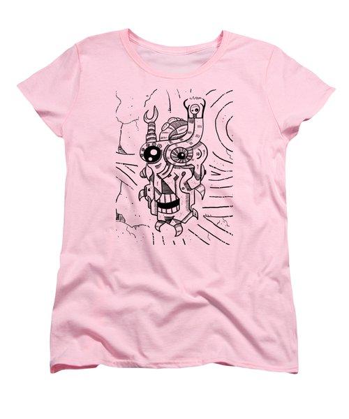Killer Robot Women's T-Shirt (Standard Cut) by Sotuland Art