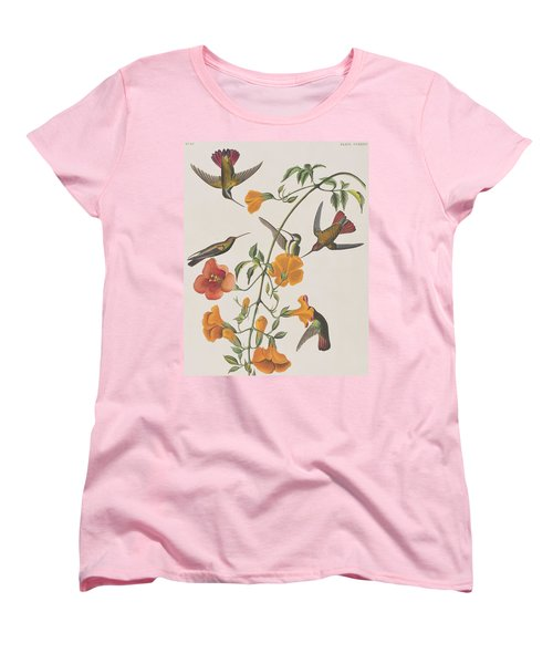 Mango Humming Bird Women's T-Shirt (Standard Cut) by John James Audubon