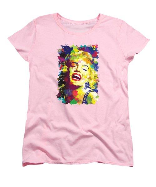Marilyn Monroe Women's T-Shirt (Standard Cut) by Anthony Mwangi