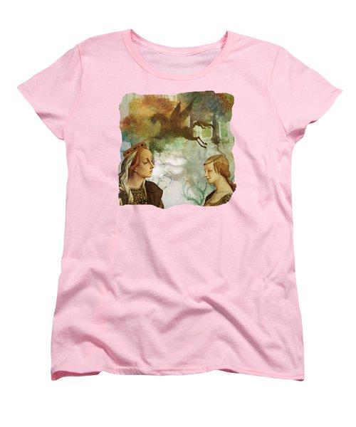 Medieval Dreams Women's T-Shirt (Standard Cut) by Terry Fleckney