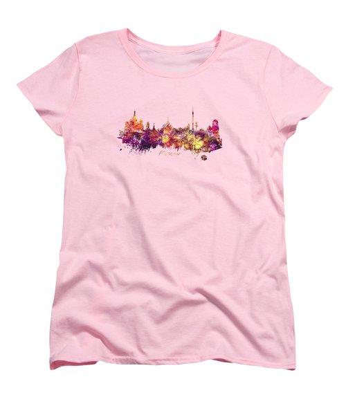 Moscow Women's T-Shirt (Standard Cut) by Justyna JBJart