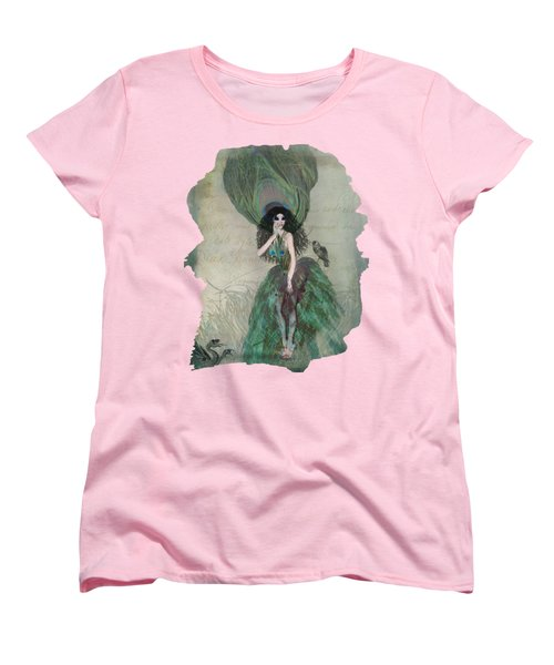 Mysterieuse Women's T-Shirt (Standard Cut) by Terry Fleckney