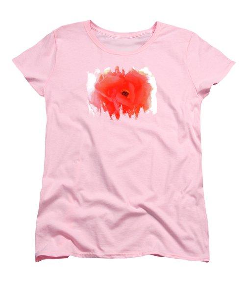 Peachy Keen Women's T-Shirt (Standard Cut) by Anita Faye