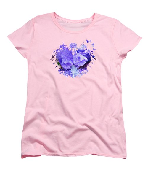 Pretty Purple Women's T-Shirt (Standard Cut) by Anita Faye